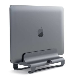 Satechi Satechi | Vertical Laptop Stand - Space Gray ST-ALVLSM