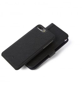 Decoded Decoded   iPhone 8/7/6/6s+ 2-in-1 Leather Wallet Black   DC-D6IPO7PLWC4BK