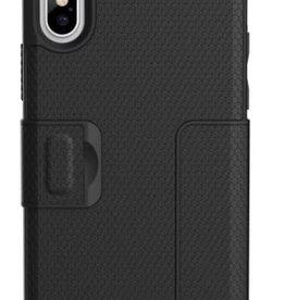 UAG UAG | iPhone X/Xs Black/Silver Metropolis Series Folio case | 15-02084