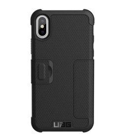 UAG UAG   iPhone X/Xs Black/Silver Metropolis Series Folio case   15-02084