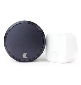 August August Smart Lock Pro + Connect Gray SL03C02G03