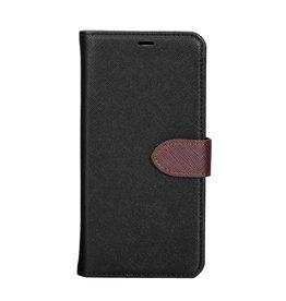 Blu Element Blu Element | Samsung Galaxy A8 (2018) | 2 in 1 Folio Case Black/Brown - 120-0286