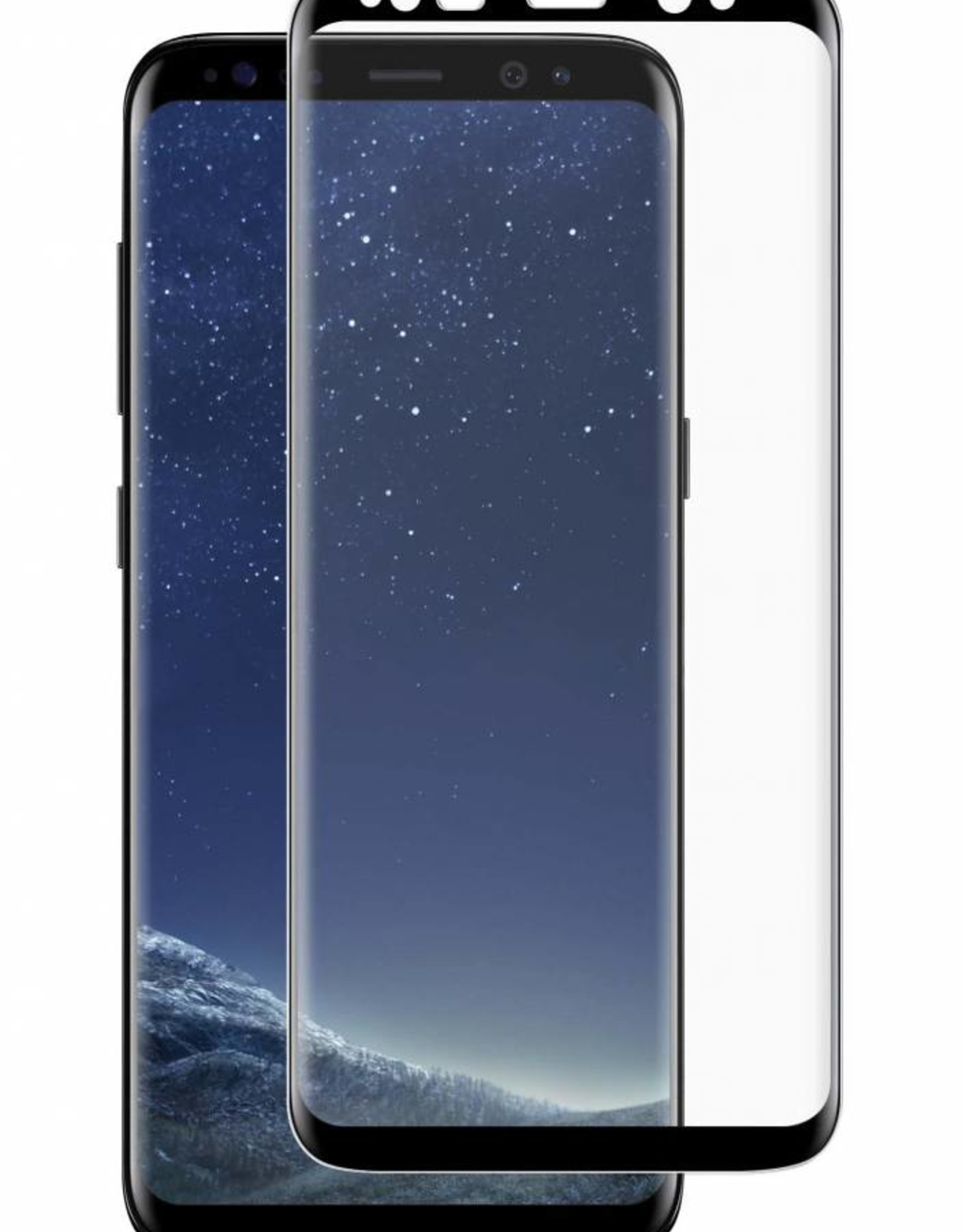 Blu Element /// Blu Element | Samsung Galaxy S8+ | 3D Curved Glass Screen Protector ( Case Friendly ) - 118-1847