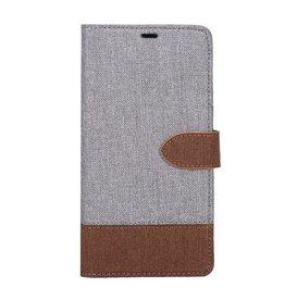 Blu Element Blu Element | Samsung Galaxy S9 | 2 in 1 Folio-2 Tone Gray/Brown - 120-0203