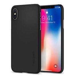 Spigen Spigen   iPhone X/Xs Thin Fit Case Matte Black   SGP057CS22108