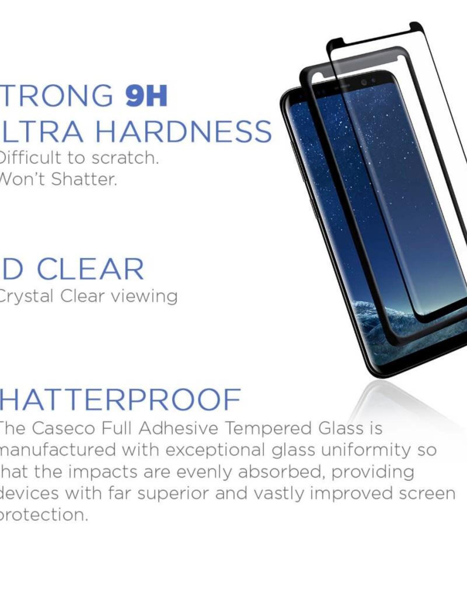 Caseco Caseco | Samsung Galaxy S8+ Premium Full Adhesive Tempered Glass Screen Protector | WXCC-SP-FA-GS8P