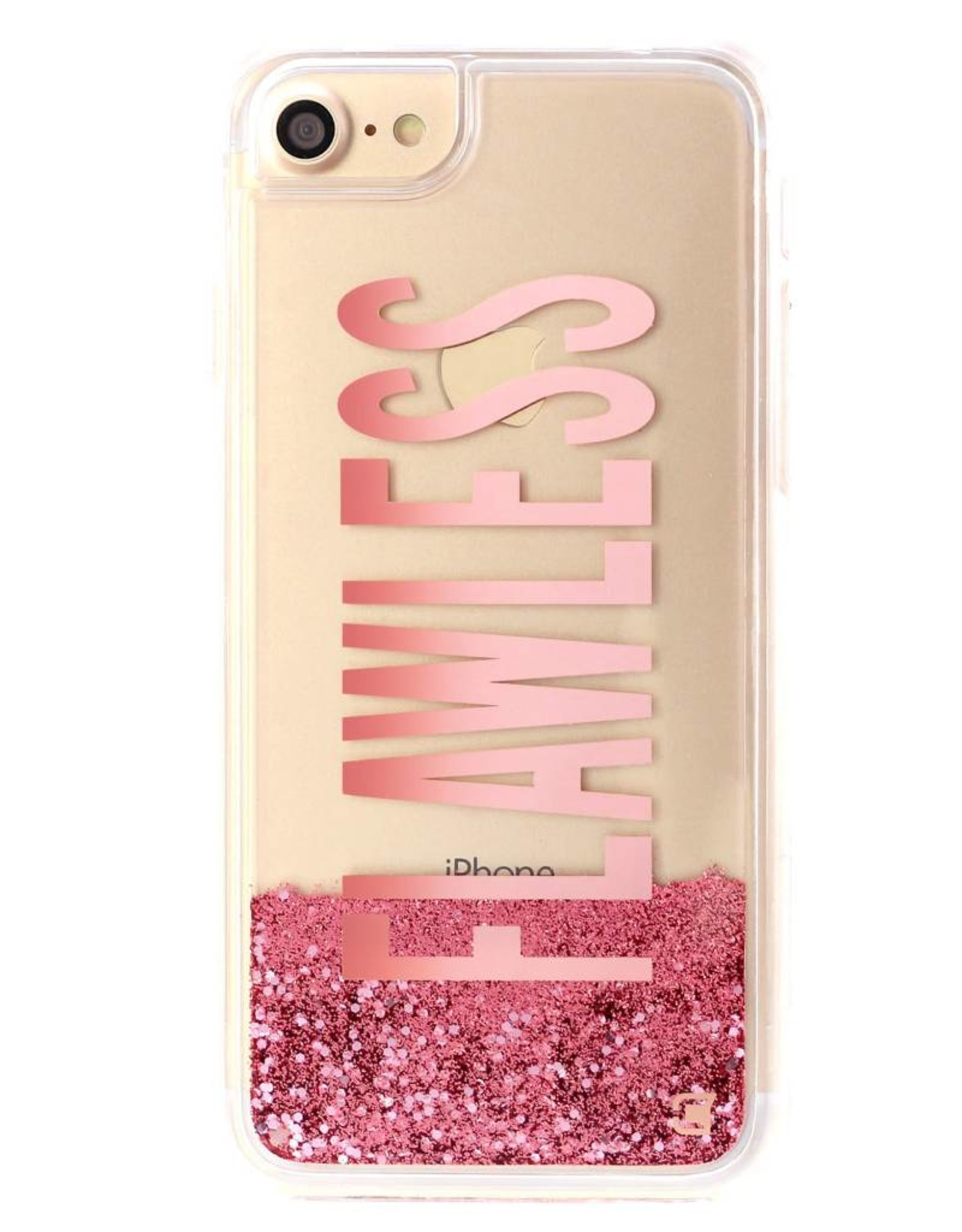 Caseco /// Caseco| iPhone 8/7/6/6s Liquid Glitter Case ''Flawless'' | WXLG-iP7-FLW