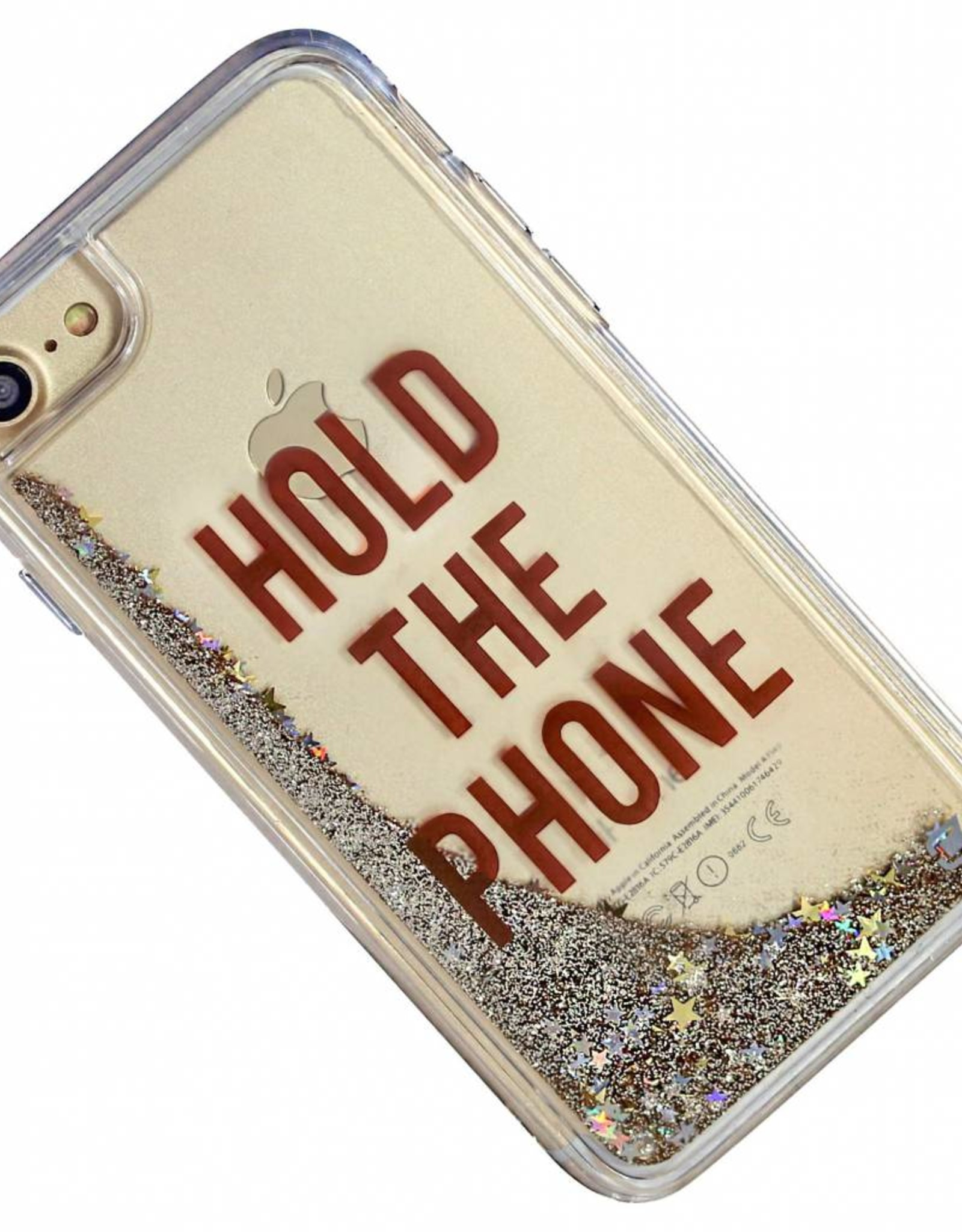 Caseco Caseco| iPhone 8/7/6/6s Liquid Glitter Case ''HOLD THE PHONE'' | WXLG-iP7-HLD