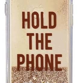 Caseco Caseco| iPhone 8/7/6/6s+ Liquid Glitter Case ''Hold the Phone'' | WXLG-iP7P-HLD