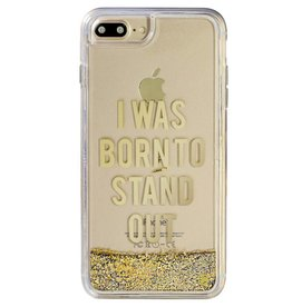 Caseco Caseco| iPhone 8/7/6/6s+ Liquid Glitter Case ''I Was Born To Stand Out'' | WXLG-iP7P-SND