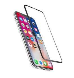 Logiix /// LOGiiX   Phantom Glass Edge to Edge for iPhone X - Black   LGX-12644