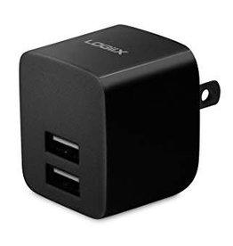 Logiix Logiix | USB Power Cube Rapide 2.4A / 12 Watt AC Charger -  Black LGX-11742