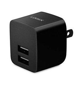 Logiix Logiix | USB Power Cube Blk 2.4A | LGX-11742