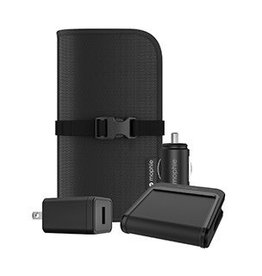 Mophie SO Mophie Black Wireless Charge Stream Travel Kit 15-03259