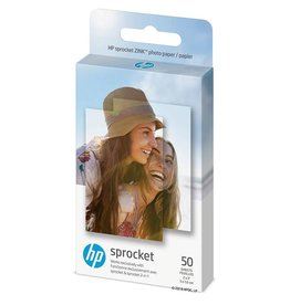 HP HP | Zink 2x3 50 Sheets Glossy Adhesive Photo Paper 1DE39A