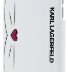 /// Karl Lagerfeld Karl Lagerfeld   iPhone 8/7/6/6s Choupette Wink PU Embossed Back Light Grey   KLHCP7CHMO