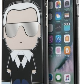 /// Karl Lagerfeld   iPhone 8/7/6/6s Flexible PU Case with Silhouette Design in Blue/Black   KLHCP7ICKLBLU