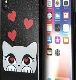 /// Karl Lagerfeld   iPhone X Valentine TPU Case Choupette   KLHCPXVDCBK