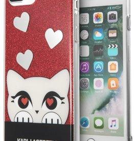 /// Karl Lagerfeld   iPhone 8/7/6/6s+ Valentine TPU Glitter Red   KLHCP7LVDCRE