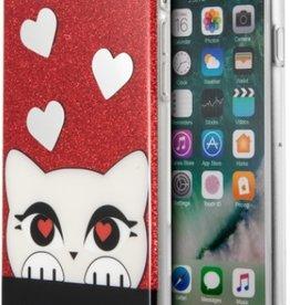 /// Karl Lagerfeld   iPhone 8/7/6/6s Valentine TPU Glitter Red   KLHCP7VDCRE