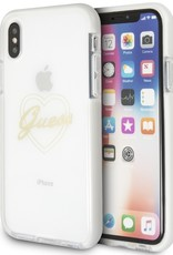 /// Guess | IPhone X Transparent Thermoplastic Polyurethane Phone Case (Shockproof Collection) | GUHCPXSHPI