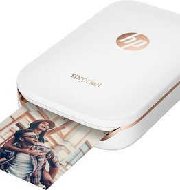 HP /// HP | Sprocket Photo Printer White | X7N07A