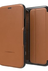 GEAR4 GEAR4 | iPhone X D3O Oxford Leather Light Tan |15-02483