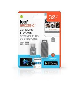 Leef Leef Bridge Type-C Black 32GB Mobile Memory 15-01899