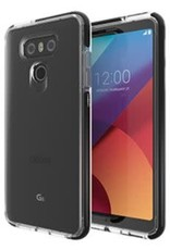 GEAR4 GEAR4 | LG G6 D3O Clear/Black Piccadilly case | 15-01837