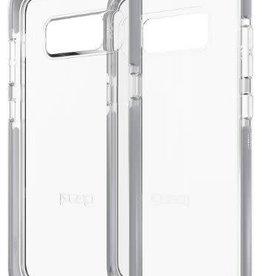 GEAR4 GEAR4 | Samsung Galaxy S8 D3O Clear/Silver Piccadilly case | 15-01657