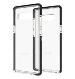 Gear4 Gear4 | Samsung Galaxy Note 8 D3O Clear/ Black Piccadilly case | 15-02026
