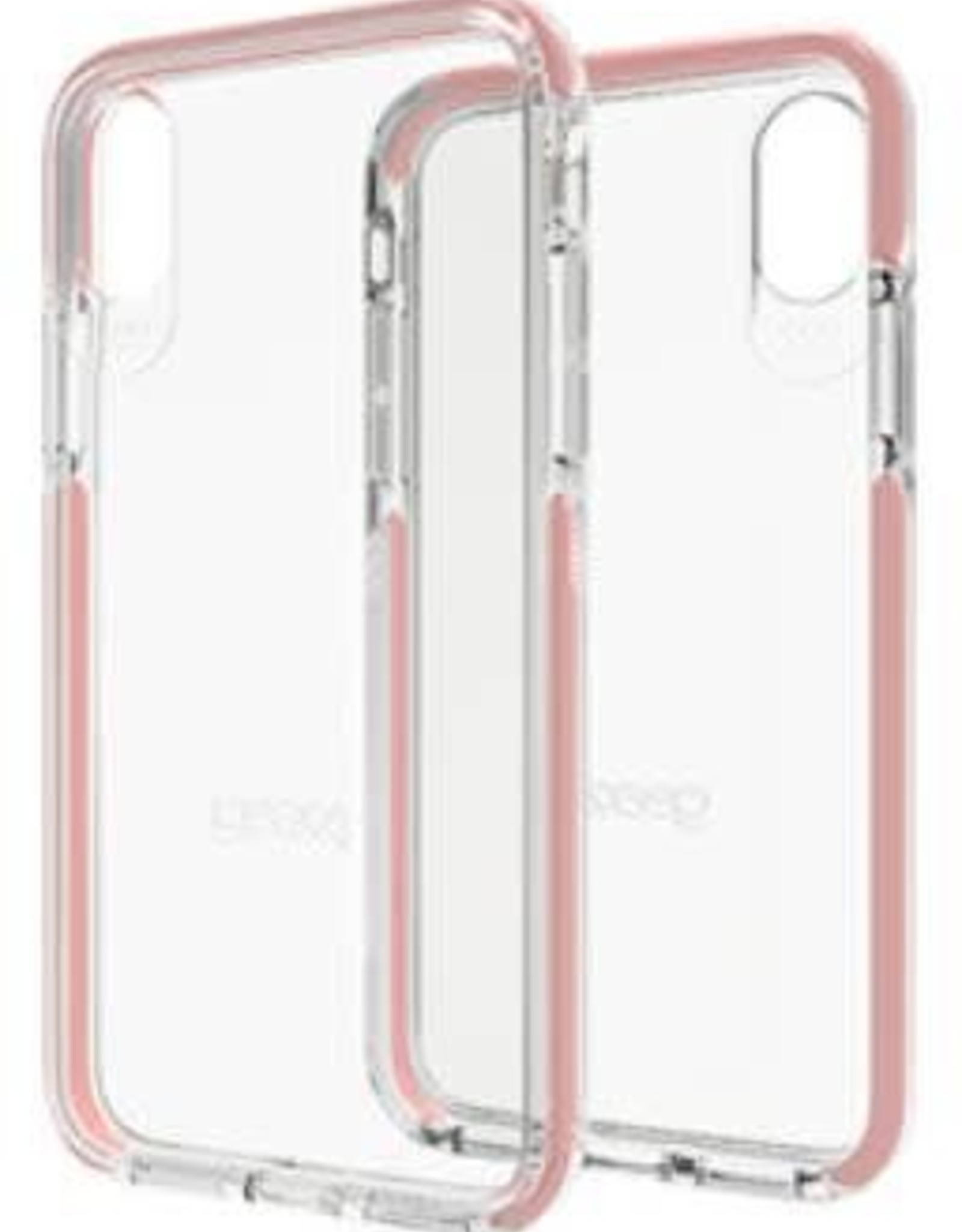 GEAR4 GEAR4 | iPhone X D3O Clear/Rose Gold Piccadilly case | 15-02132