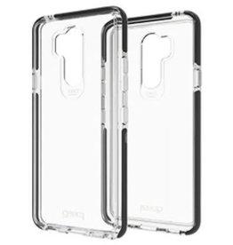 Gear4 Gear4 | LG G7 ThinQ D3O Clear/Black Piccadilly case | 15-03093