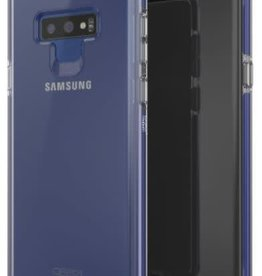 GEAR4 GEAR4 | Samsung Galaxy Note 9 D3O Clear/Blue Piccadilly Case | 15-03316