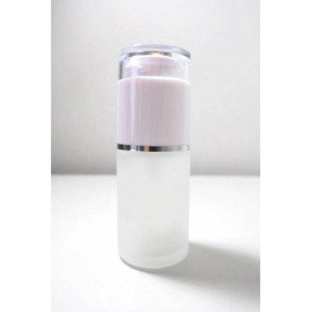 10 bouteilles avec pompe blanche 30 ml