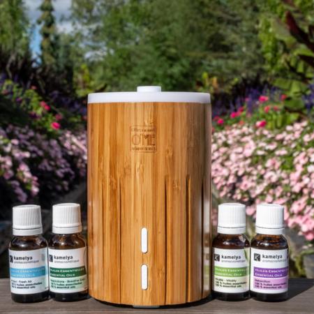 Diffuser & 4 essential oils