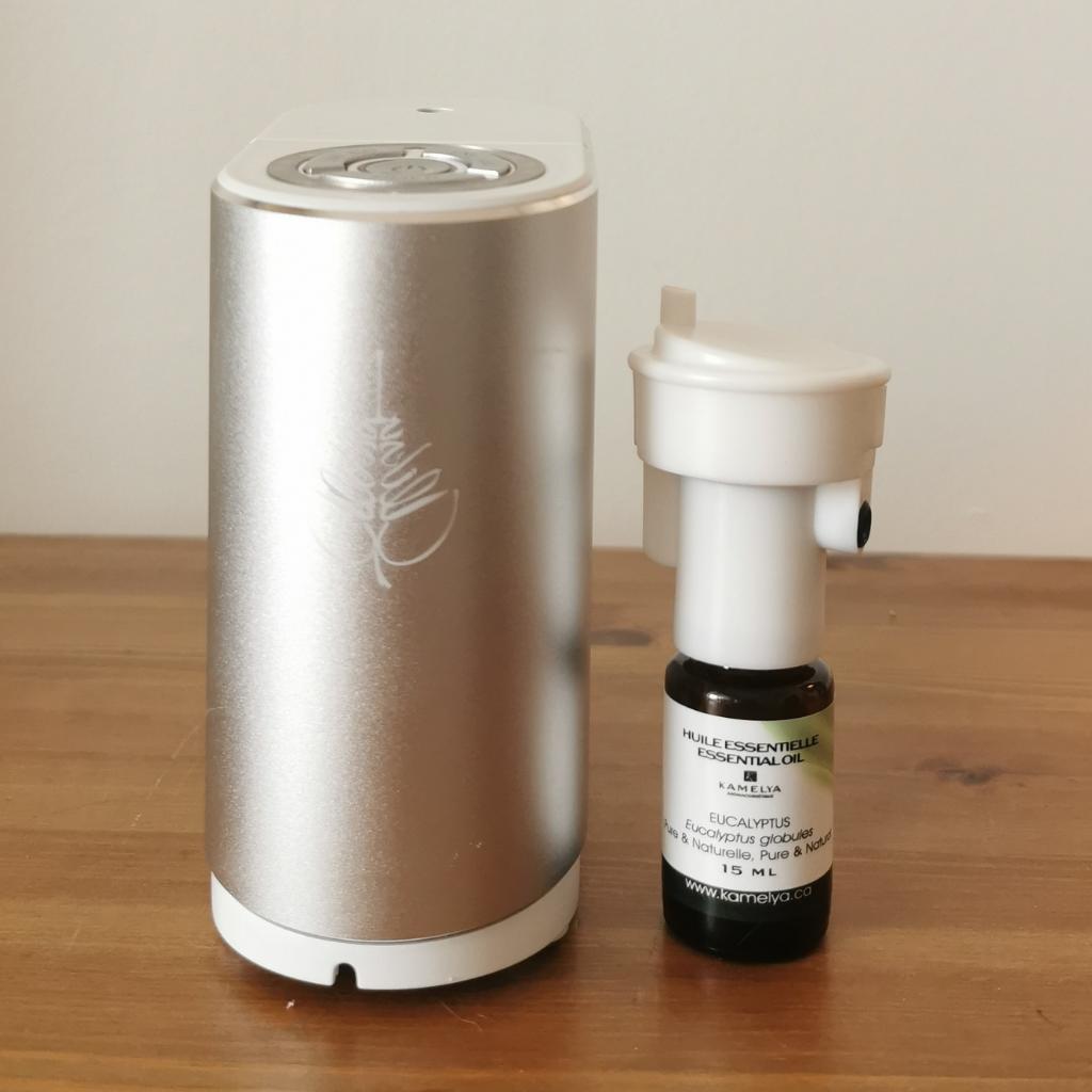 Essential oil nebuliser