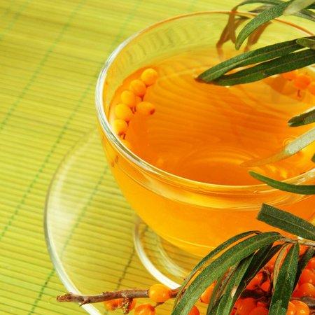 Huile d'argousier et de thé vert