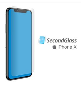 Second Glass Second Glass - Tempered Glass Protector for iPhone X / Xs