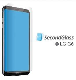 Second Glass Second Glass - Protecteur d'écran en verre trempé pour  LG G6