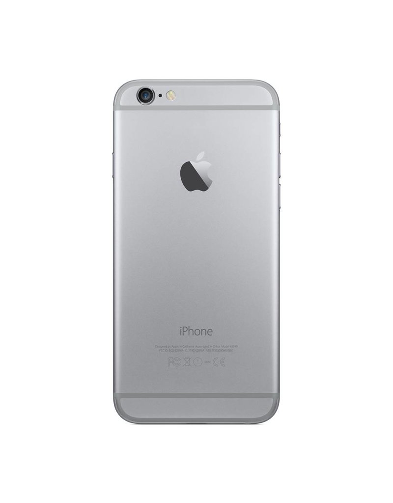 Apple Cell iPhone 6 Unlock  Argent 16 Go (Good)
