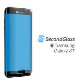 Second Glass SecondGlass - Protecteur d'écran en verre trempé pour Samsung Galaxy S7