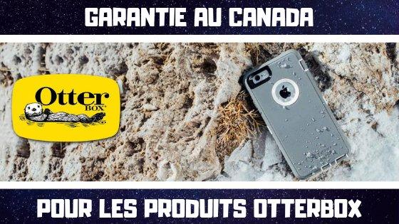 Garantie Otterbox au Canada