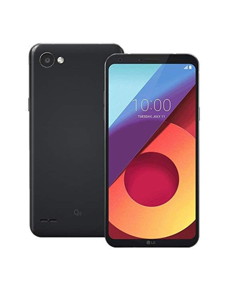 LG Cell Lg Q6 Unlock Noir 32 Go (Good)