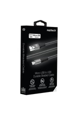 Naztech Câble Micro-USB Tressé 4 pieds