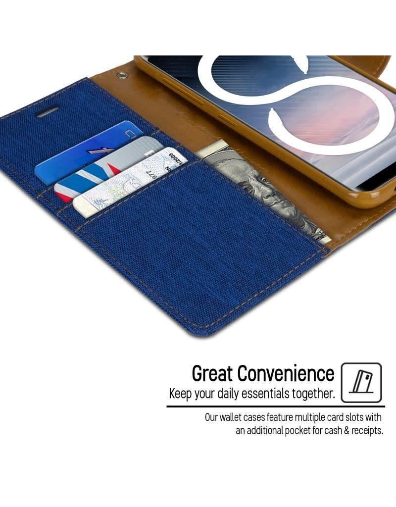 Goospery Canvas Diary Samsung Galaxy S8 Plus