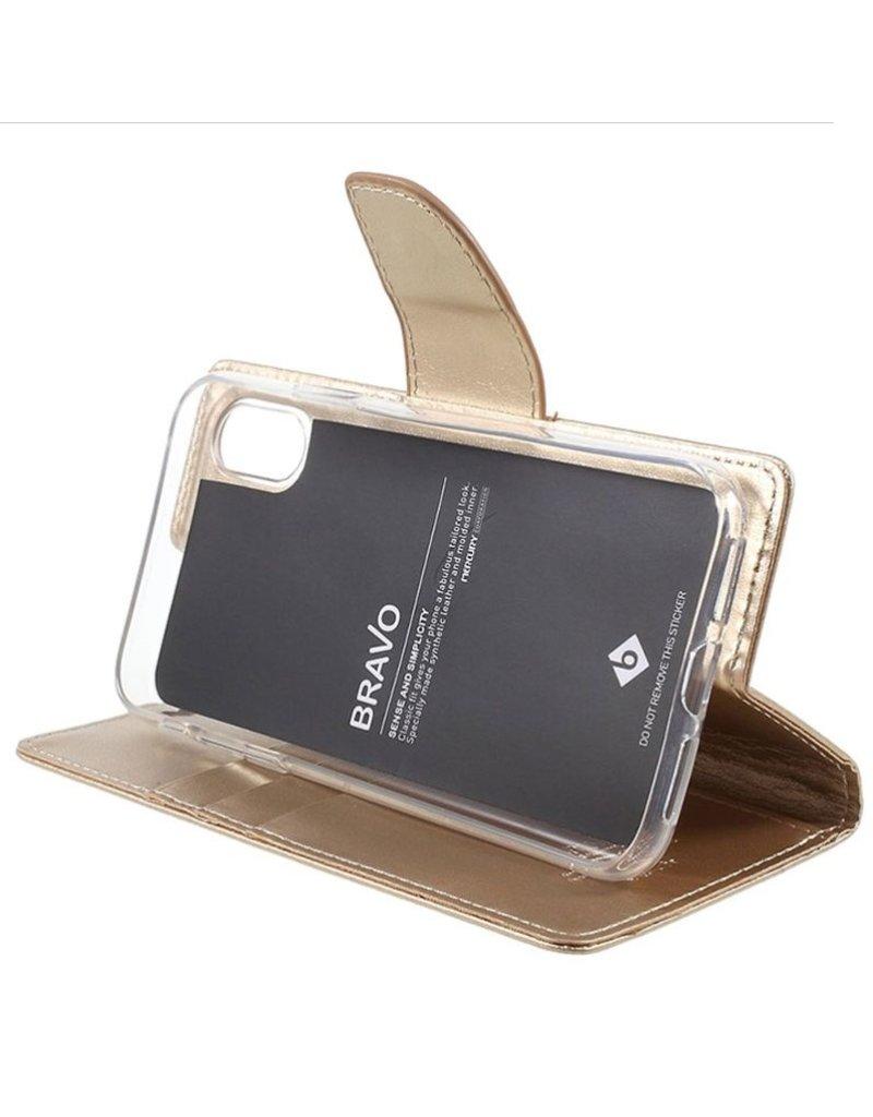 Goospery Étui Bravo Diary pour iPhone X - Livraison rapide partout au Canada!