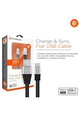 Hypergear HyperGear Câble USB-C 6 Pieds - Livraison Rapide Partout Au Canada!