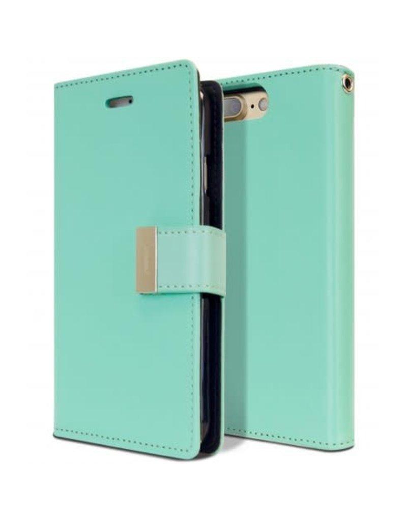 Goospery Étui Rich Diary pour iPhone 7 Plus / 8 Plus - Livraison rapide partout au Canada!