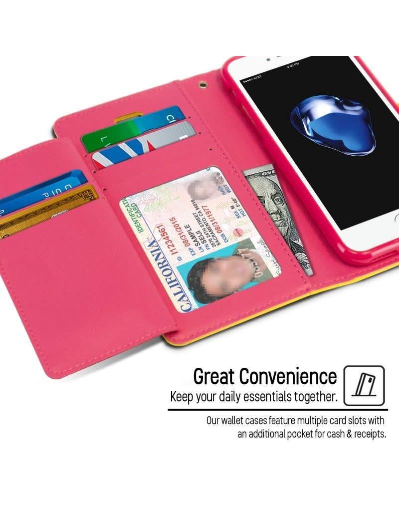 Goospery Étui Rich Diary pour iPhone 7 / 8 - Livraison rapide partout au Canada!